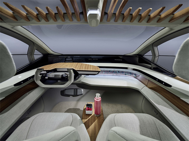 Audi präsentiert mit dem Audi AI:ME seine Vision eines autonomen Citymobils
