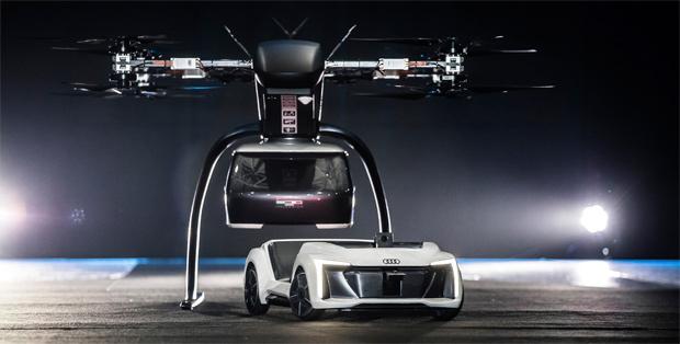 Audi, Airbus und Italdesign: Flugtaxis werden kommen