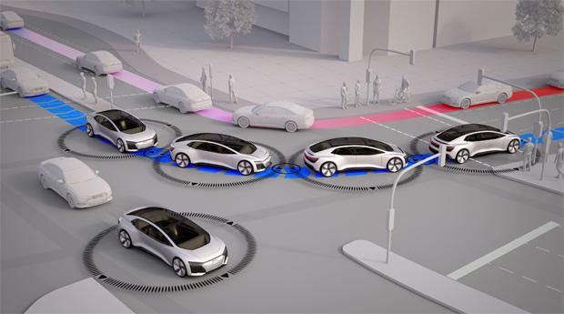 "Audi-Studie ""25. Stunde - Flow"" simuliert Verkehrsfluss in Ingolstadt"