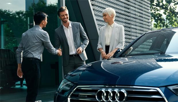 Audi startet flexiblen Mobilitätsservice in Großbritannien