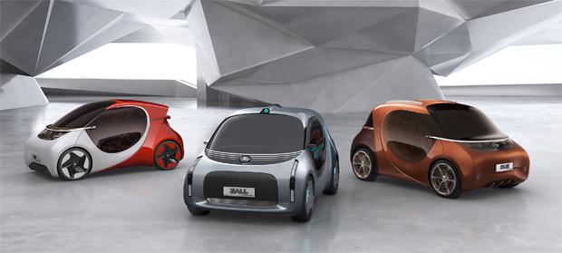 BASF und GAC R&D Center präsentieren Konzeptfahrzeuge