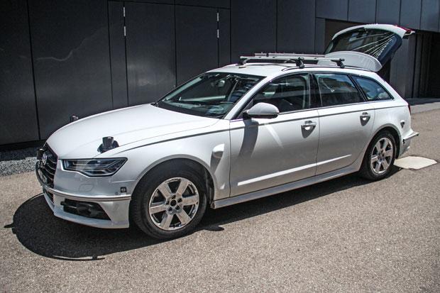 BFFT rüstet Audi A6 zum autonomen Fahren auf