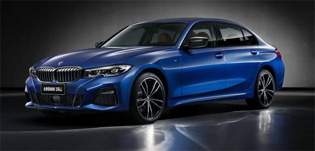 BMW präsentiert 3er Limousine in der Langversion auf der Auto Shanghai