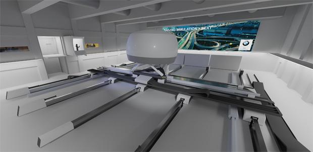 Hochpräzise Simulationen: BWM baut Fahrsimulationszentrum in München