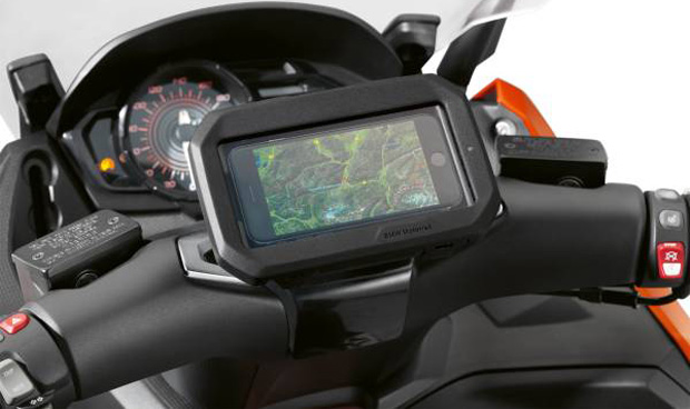 BMW präsentiert digitales Zubehör für Motorräder