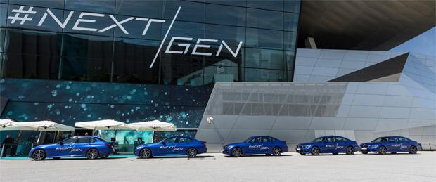 BMW zeigt automatisiertes Fahren auf der #NEXTGen