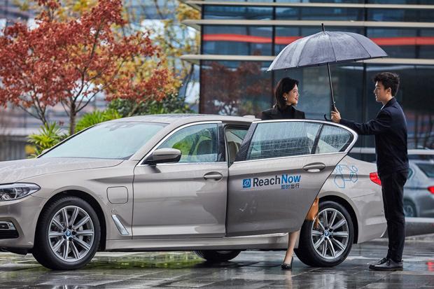 BMW Group erhält Ride-Hailing-Lizenz für China