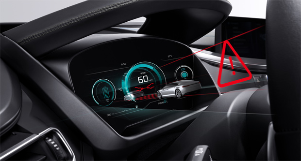 3D-Display von Bosch kommt ohne 3D-Brille aus