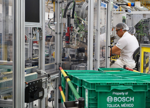 Bosch baut Smart Factory für Elektronikkomponenten in Mexiko