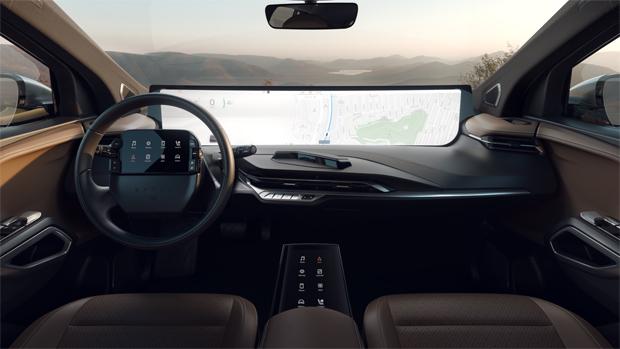 CES 2019: Byton präsentiert Serien-Cockpit des M-Byte