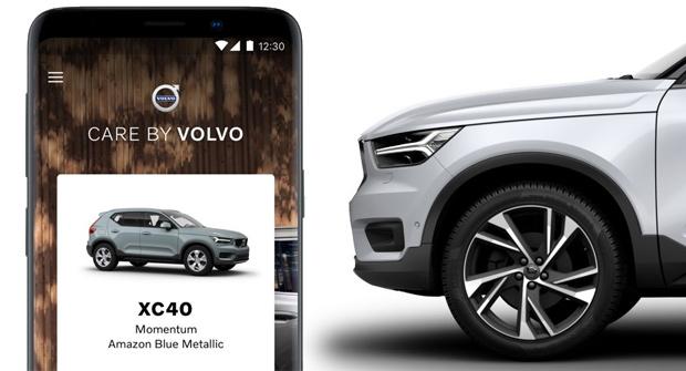 """""""Care by Volvo"""" über Android buchbar"""