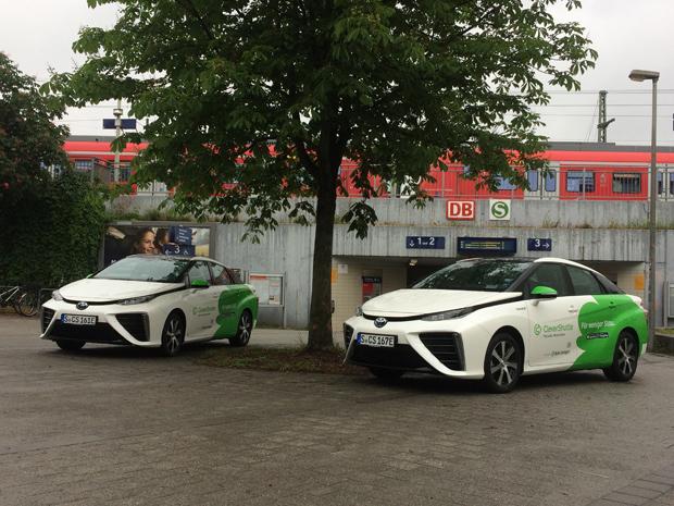 Ridesharing-Service CleverShuttle startet in Stuttgart