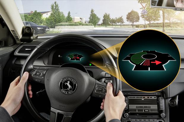 Maschinell lernendes Fahrerassistenzsystem von Continental und der TU Darmstadt