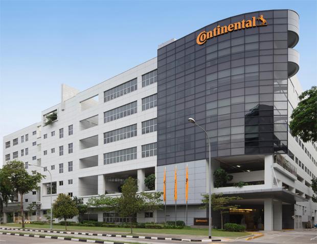Eröffnung vom dritten Continental Forschungs- und Entwicklungszentrum in Singapur