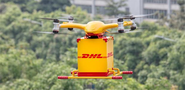 Neue Ära für die Luftfrachtlogistik: DHL startet Drohnenlieferung