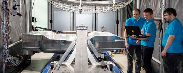 DLR erforscht Leichtbaukarosserie für das Auto der Zukunft