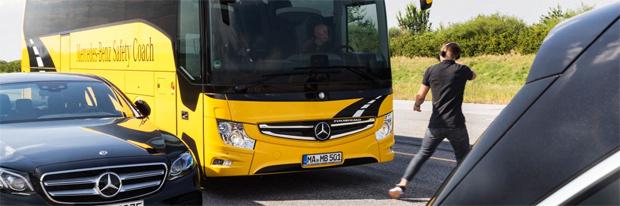 Mercedes-Benz schickt Bremsassistent Active Brake Assist 4 in Serie