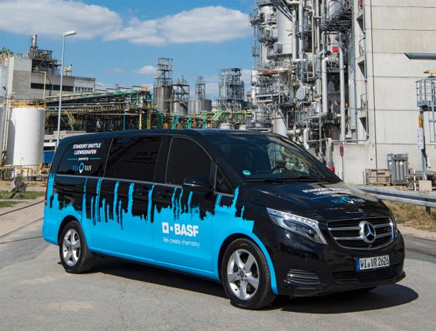 Zusammenarbeit von Mercedes-Benz Vans und BASF rund um Mobilitätsthemen