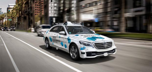 Daimler und Bosch planen in San José Pilotstadt für fahrerlosen Mitfahrservice
