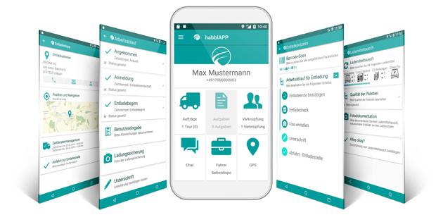 Fleetboard übernimmt Logistik-Anwendung habbl von der Eikona AG