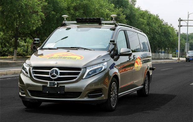 Daimler darf vollautomatisierte Fahrzeuge öffentlich in Peking testen