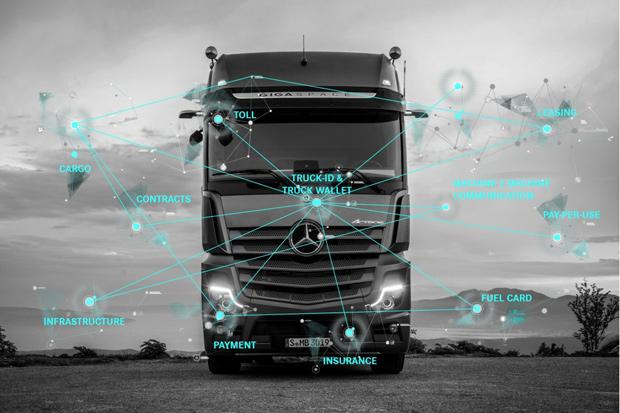 Daimler befähigt Lkw zu rechtsverbindlicher Handlungsfähigkeit