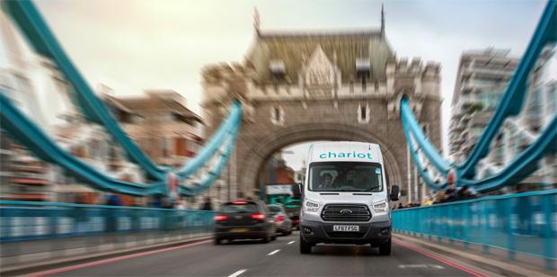 Ford erweitert Einzugsgebiet von Chariot in London