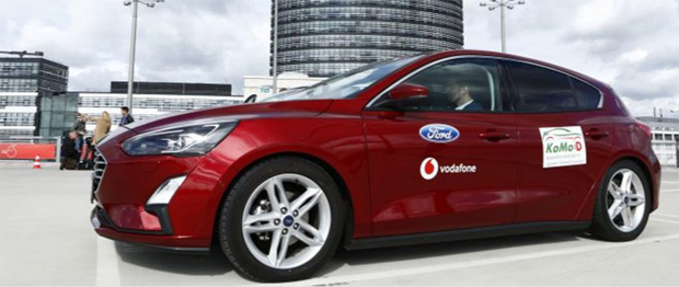 """Vodafone und Ford stellen """"FordPass""""-App vor"""