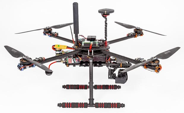 Sprachkanal beste Lösung für Drohnensteuerung