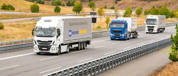 Zusammenarbeit von Knorr-Bremse und Continental für hochautomatisiertes Fahren von Nutzfahrzeugen