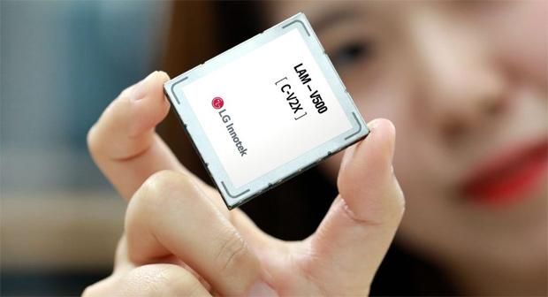 LG Innotek präsentiert C-V2X-Modul