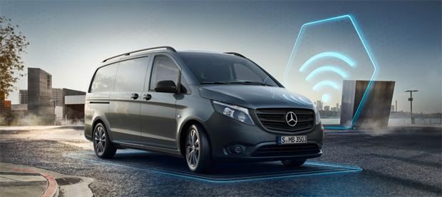Mercedes-Benz Vito erhält digitale Service-Pakete