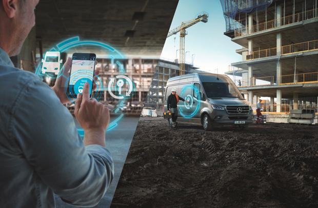 Mehr Effizienz für Fuhrparks: Mercedes PRO startet digitale Services für Sprinter