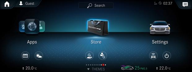 Mercedes me: Integration von Tidal und Online-Kaufmöglichkeit für Sonderausstattung