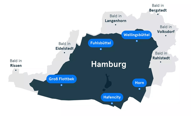 Ride-Sharing-Dienst MOIA startet in Hamburg
