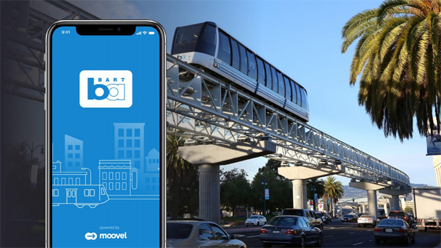 moovel und BART: Ticketing-App für den Flughafentransfer