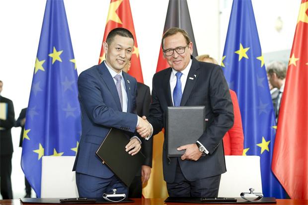 Strategische Partnerschaft zwischen Bosch und NIO