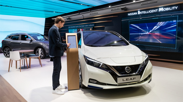 Concept Store: Nissan eröffnet ersten City Hub