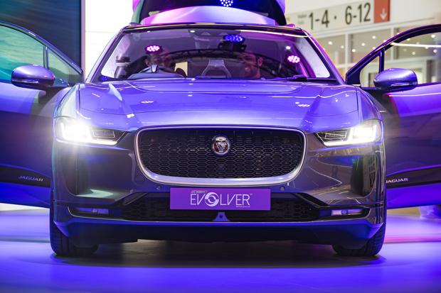 Jaguar integriert den OSR EVOLVER in den I-PACE