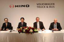 Volkswagen Truck & Bus und Hino Motors vereinbaren strategische Partnerschaft