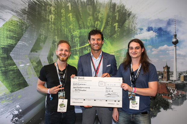 "Team ""AUTOmator"" gewinnt Porsche NEXT Open Innovation Competition"