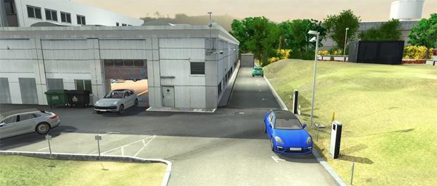 Porsche erprobt die Nutzung von autonomem Fahren