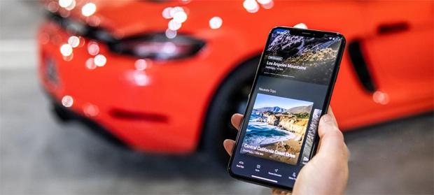 """Porsche stellt digitalen Reiseführer """"Porsche Road Trip"""" vor"""