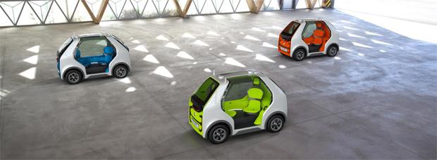 Mikromobil für die Stadt: RENAULT EZ-POD