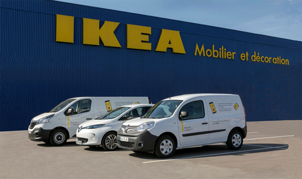 Renault und Ikea sorgen für Transport von Billy, Pax und Co.