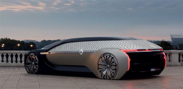 Robo-Car der Luxusklasse: Renault präsentiert Studie EZ-ULTIMO