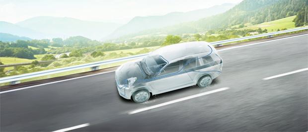 Reinigungskonzept für Fahrzeugsensoren