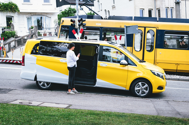 On-Demand-Mobilitätsdienst SSB-Flex startet in Stuttgart