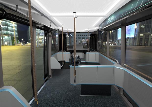 Scania stellt mit dem Konzept NXT seine Vision für urbane Transporte vor