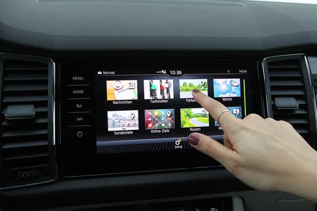 Neues Konnektivitätspaket bei Škoda